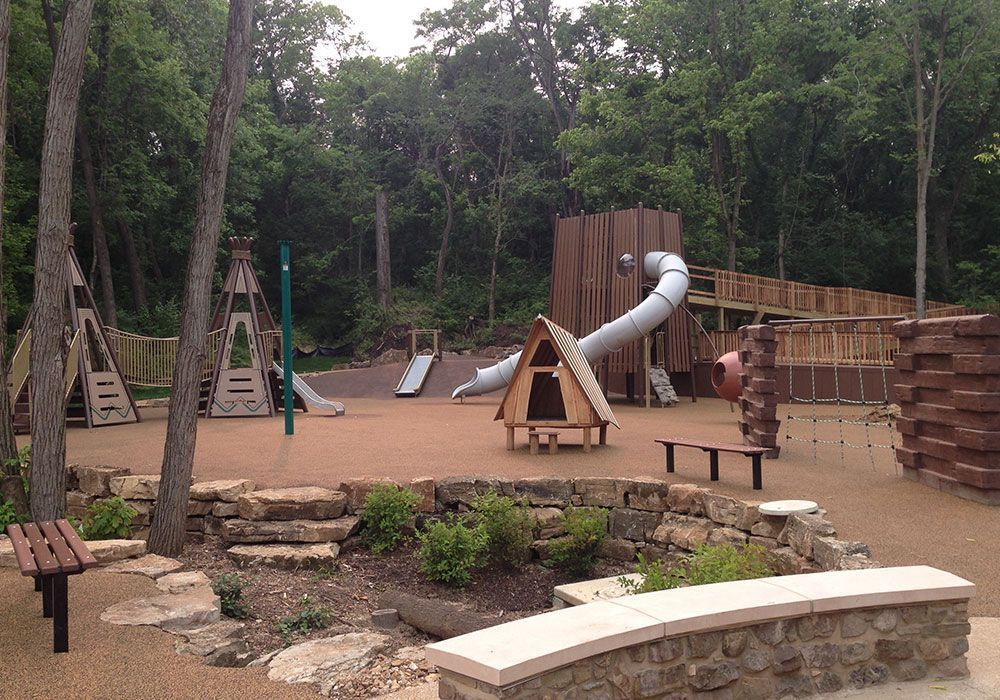 nature themed playground