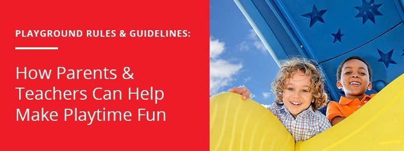 playground rules and guidelines