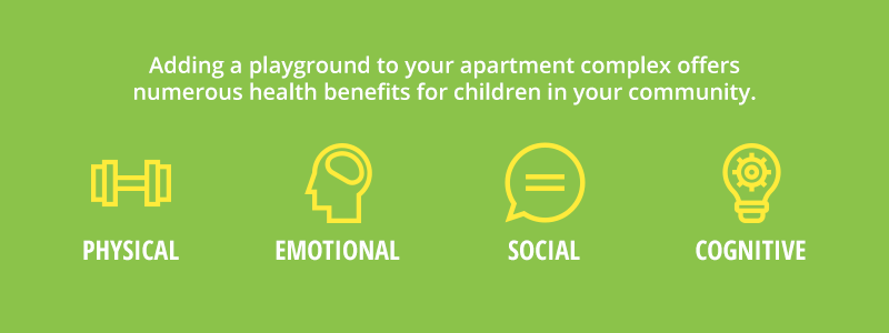 Health Benefits Of Adding A Playground To Your Apartment Complex