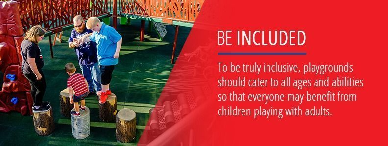 Playgrounds For All Ages And Abilities