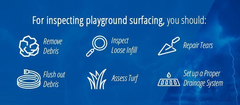 Inspecting Playground Surfacing