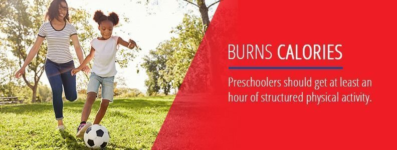 Outdoor Play Burns Calories