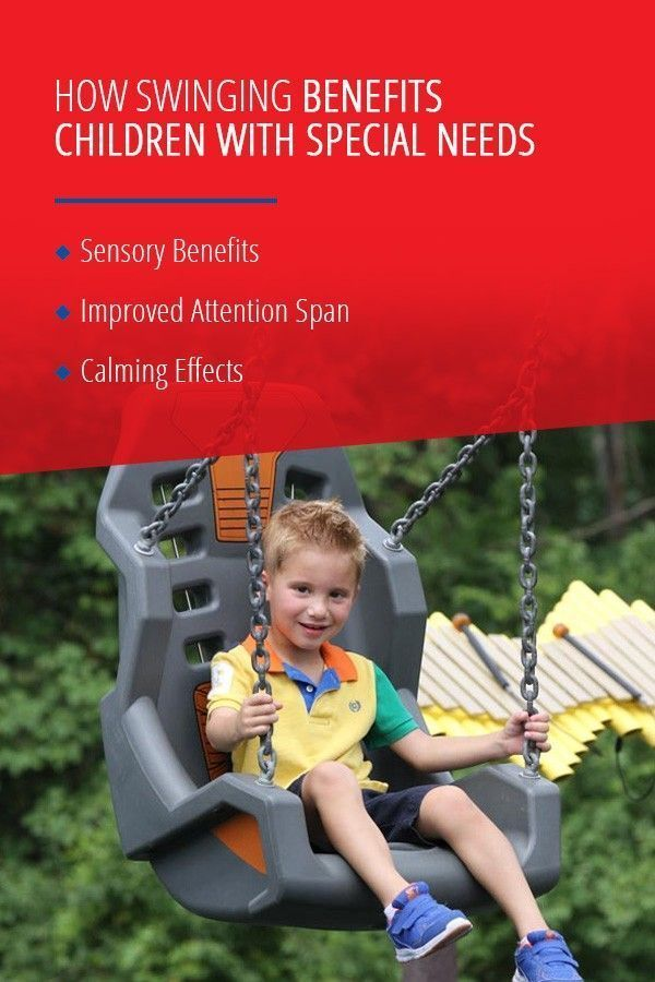 Swings Benefit Children With Special Needs