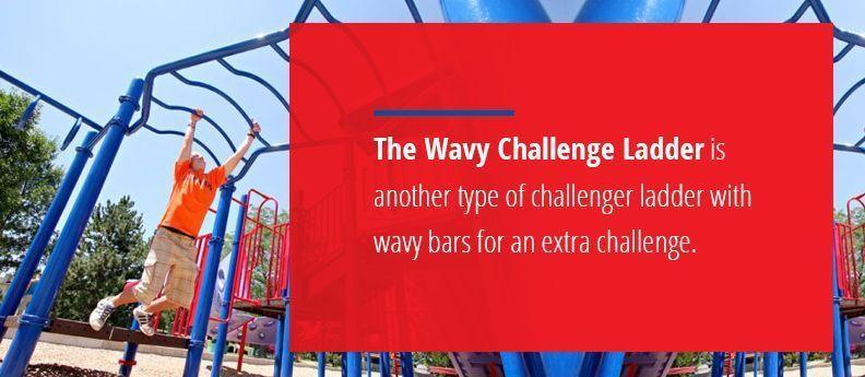 The Wavy Challenge Ladder