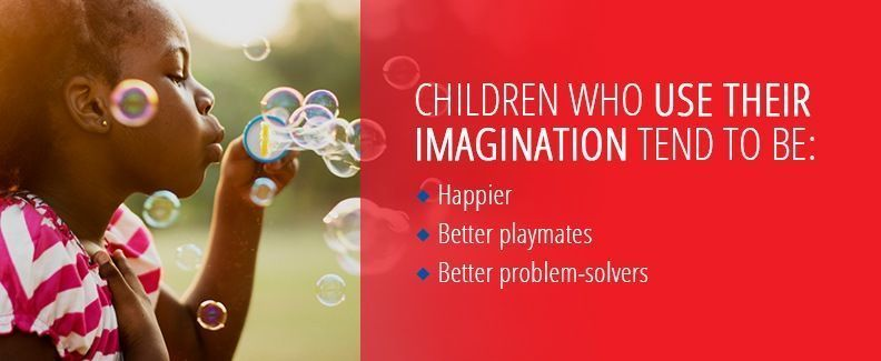 Children Using Their Imagination