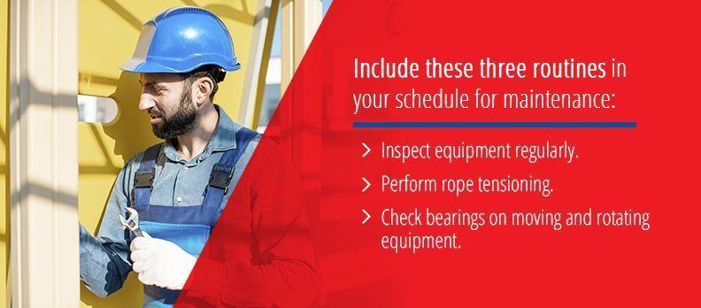 Playground Maintenance Schedule