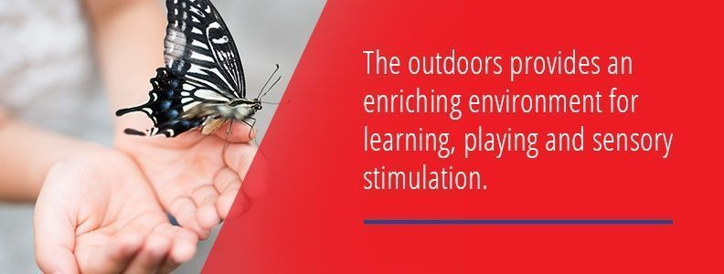 The Outdoors Stimulate The Senses