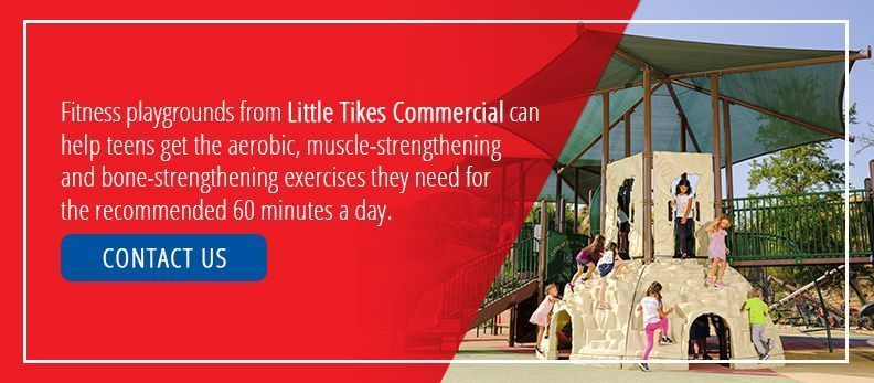 Fitness Playgrounds From Little Tikes