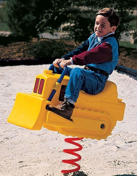Bulldozer Spring Rider (200007464)