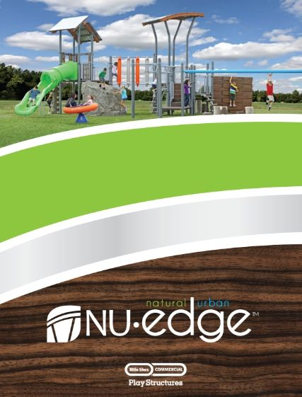 Nu Edge play structure catalog cover