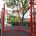 Curved Climbing Wall (200200209)