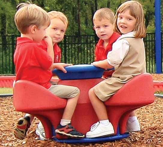Four-Seat Teeter with Bubble Top (200007461)