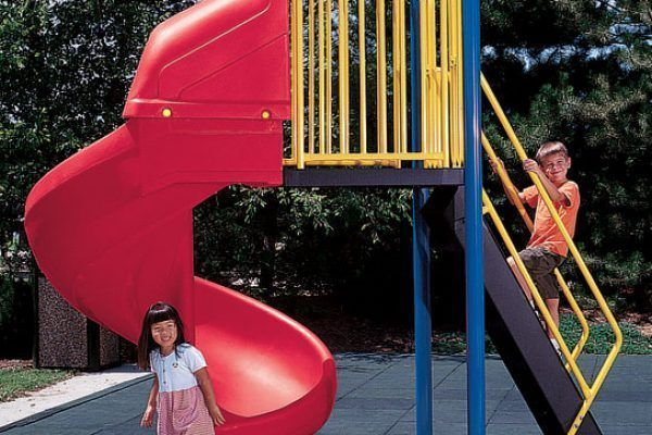One-Piece PlayBuilders Spiral Slide (200122445)