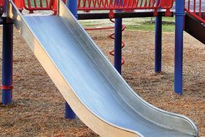 Stainless Steel Double Wide Slide (200200942)
