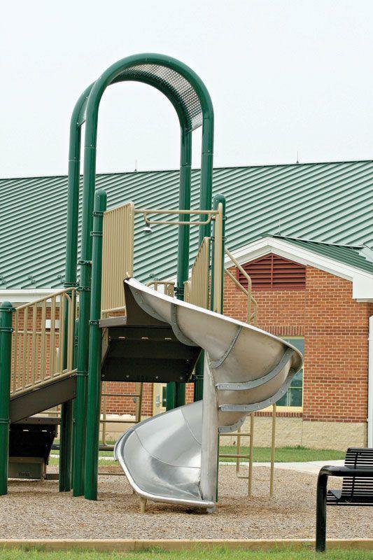 Stainless Steel Spiral Slide (200128675)