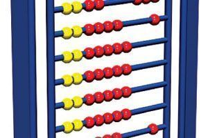 Steel Abacus Panel (200114630)
