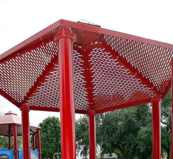 Steel Mesh Hex Roof (200072378)