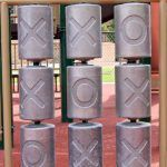Steel Tic-Tac-Toe Panel (200110097)