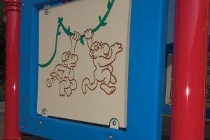 Swinging Monkeys Panel (200200082)