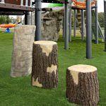 Tree Stumps Birch - Tall (200202722)