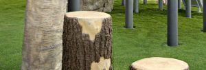 Tree Stumps Pine - Short (200202720)