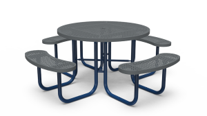 "46"" Round Table - Perforated - Portable (LTPQ150Q)"