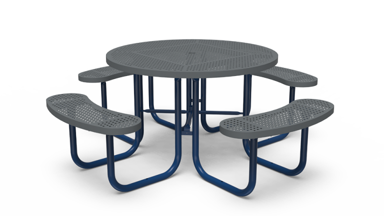 """46"""" Round Table - Perforated - Portable (LTPQ150Q)"""