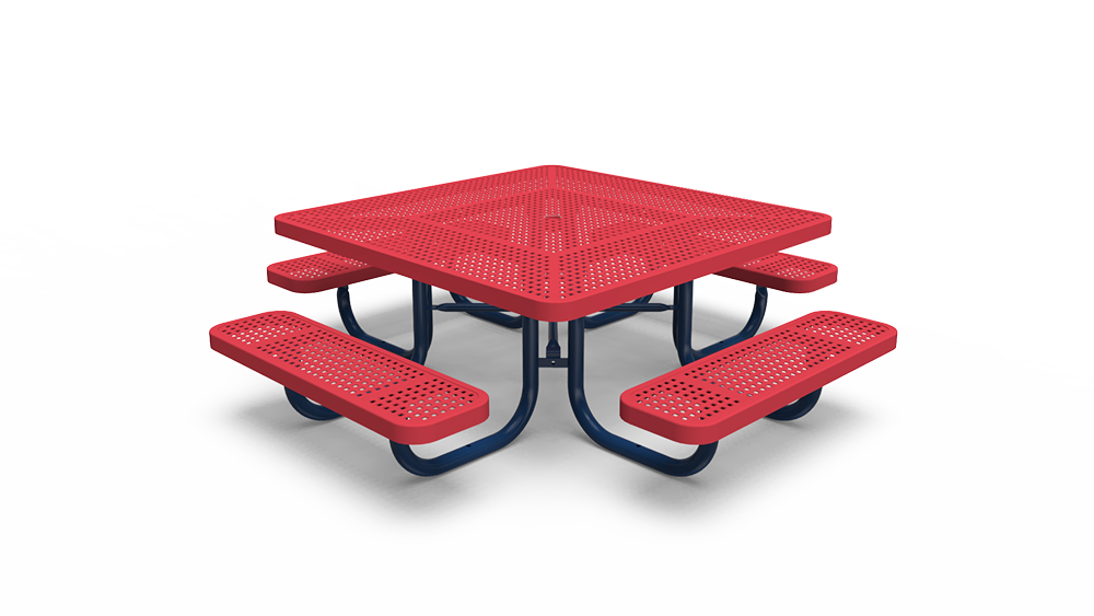 """46"""" Square Tot Table - Perforated - Portable (LTPQ171Q)"""