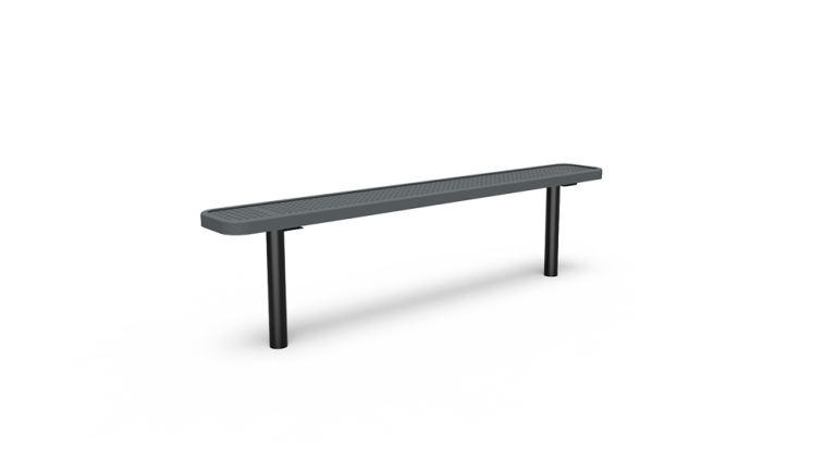 6' Backless Bench - Perforated - In-ground (LTPQ304Q)