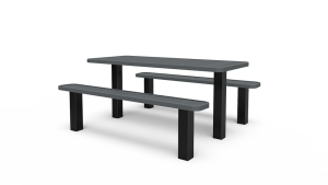 6' Separate Bench Table - Perforated - In-ground (LTPQ205Q)