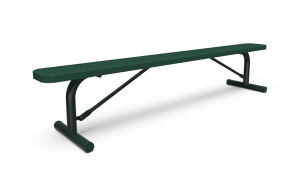 8' Backless Bench - Perforated - Portable (LTPQ313Q)
