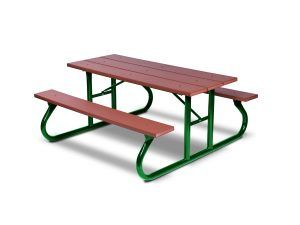 8' Recycled Plastic Picnic Table - Portable (LTGV111G)