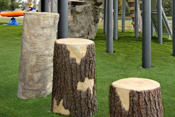 NU-Edge playground elements