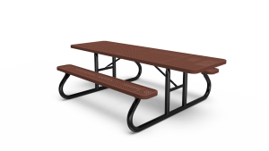 ADA 8' Rectangle Table - Perforated - Portable (LTPQ115Q)