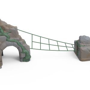 Ancient Wonders Boa Net with Anchor Stones and Arch (200203526)