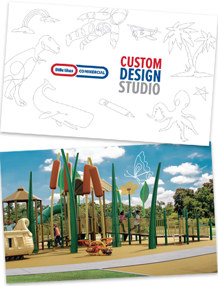 Little Tikes Commercial Custom Design Studio and Playground