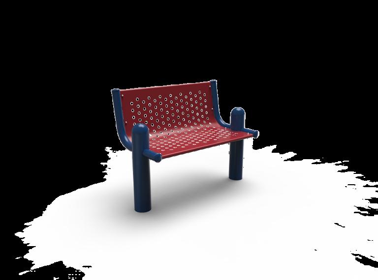 Extendable Post Bench 3' (0,91m) Surface Mount (LTPQT00)