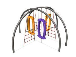Hub with 3 Hoop-Las and 3 Wing Nets (200202996)