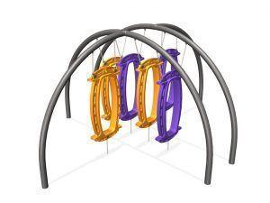 Hub with 6 Hoop-Las (200202997)