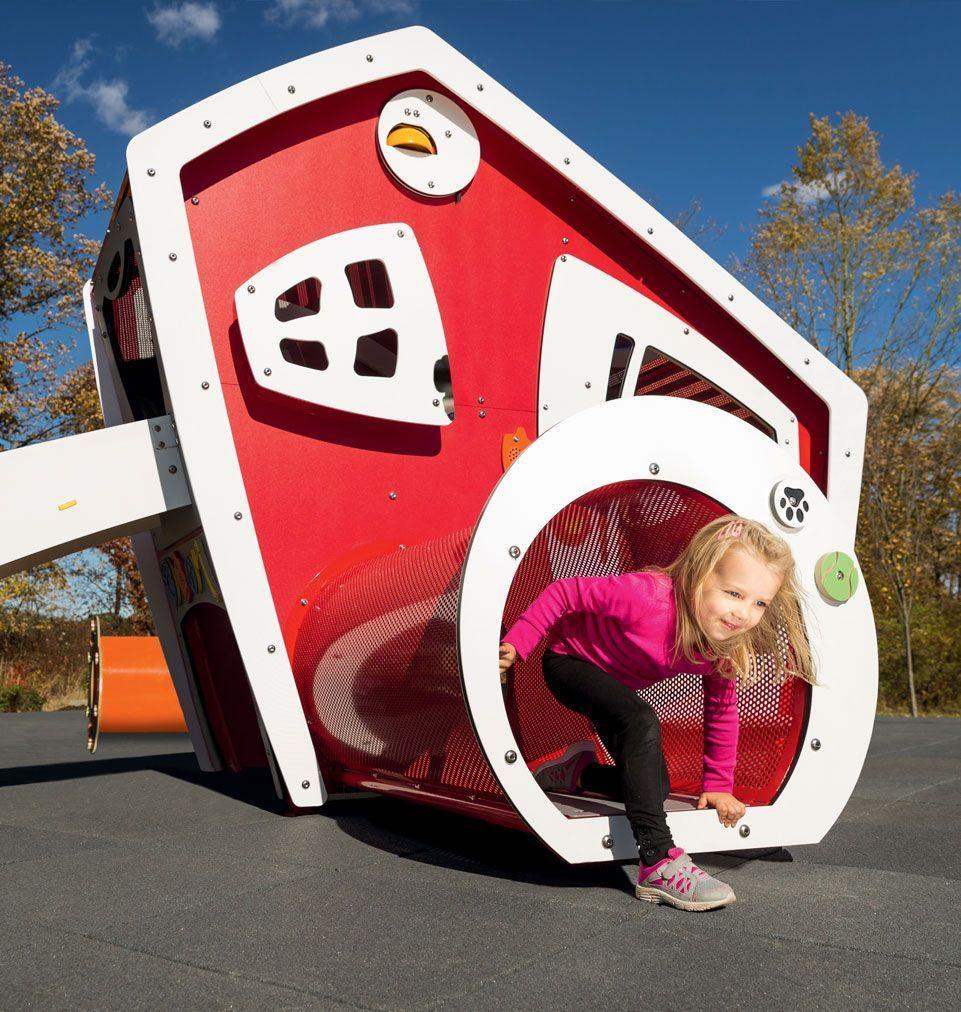 girl crawler through tot builders community helpers