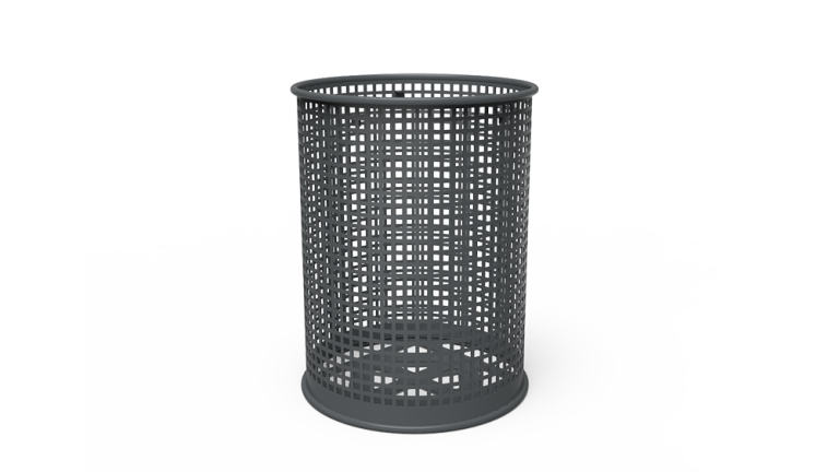 Traditional 32 Gallon Receptacle - Perforated (LTPQL32Q)