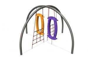 X with 2 Wing Nets and 2 Hoop-Las (200202999)