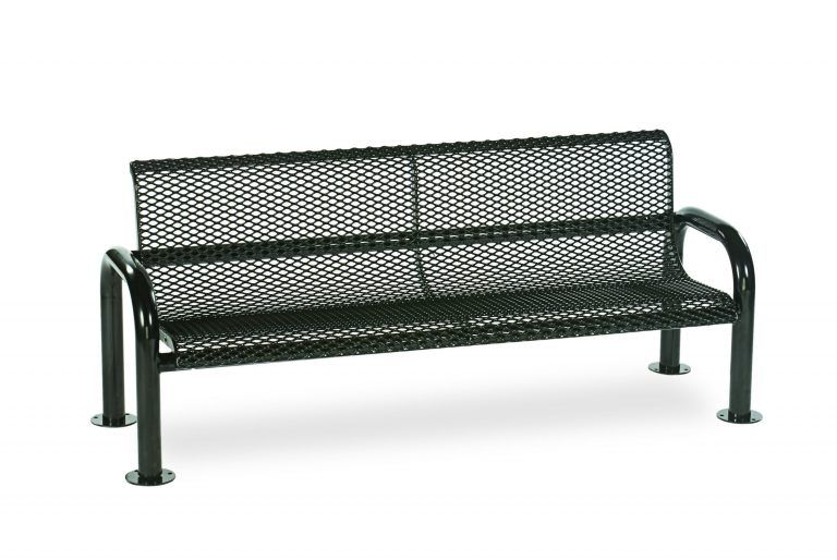 6' Contemporary Bench with Back (LTCN420D)