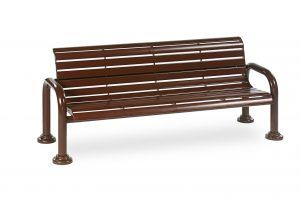 6' Contemporary Bench with Back (LTCN420S)
