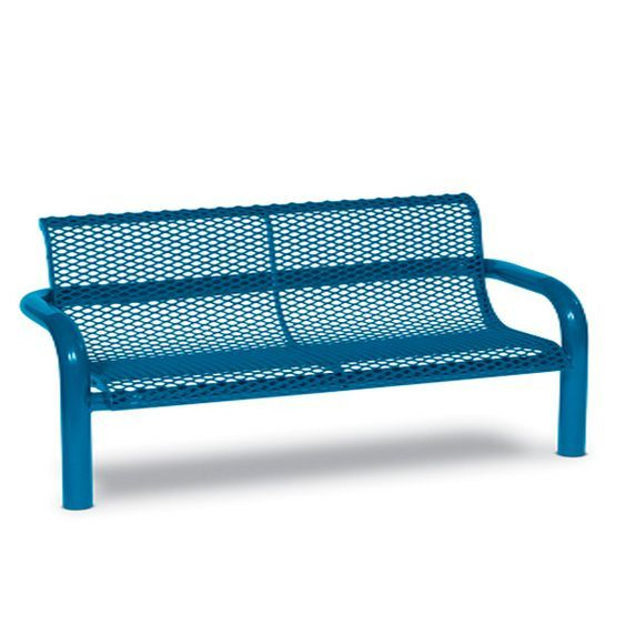 6' Contemporary Bench with Back (LTCN430D)