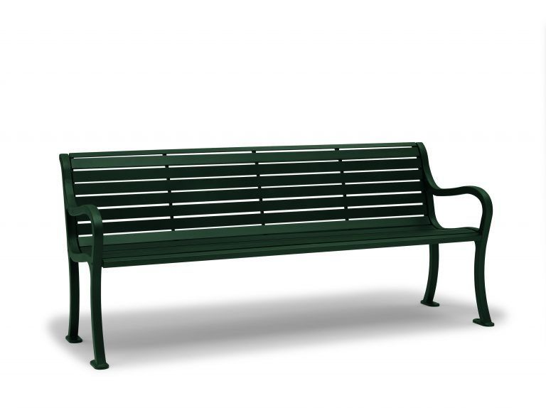 6' Covington Bench with Back/Arms (LTCO1119C)