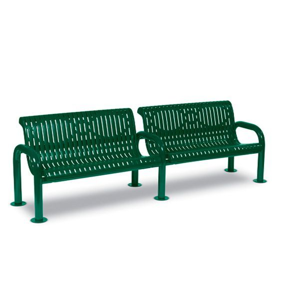 8' Contemporary Bench with Back (LTCN437R)
