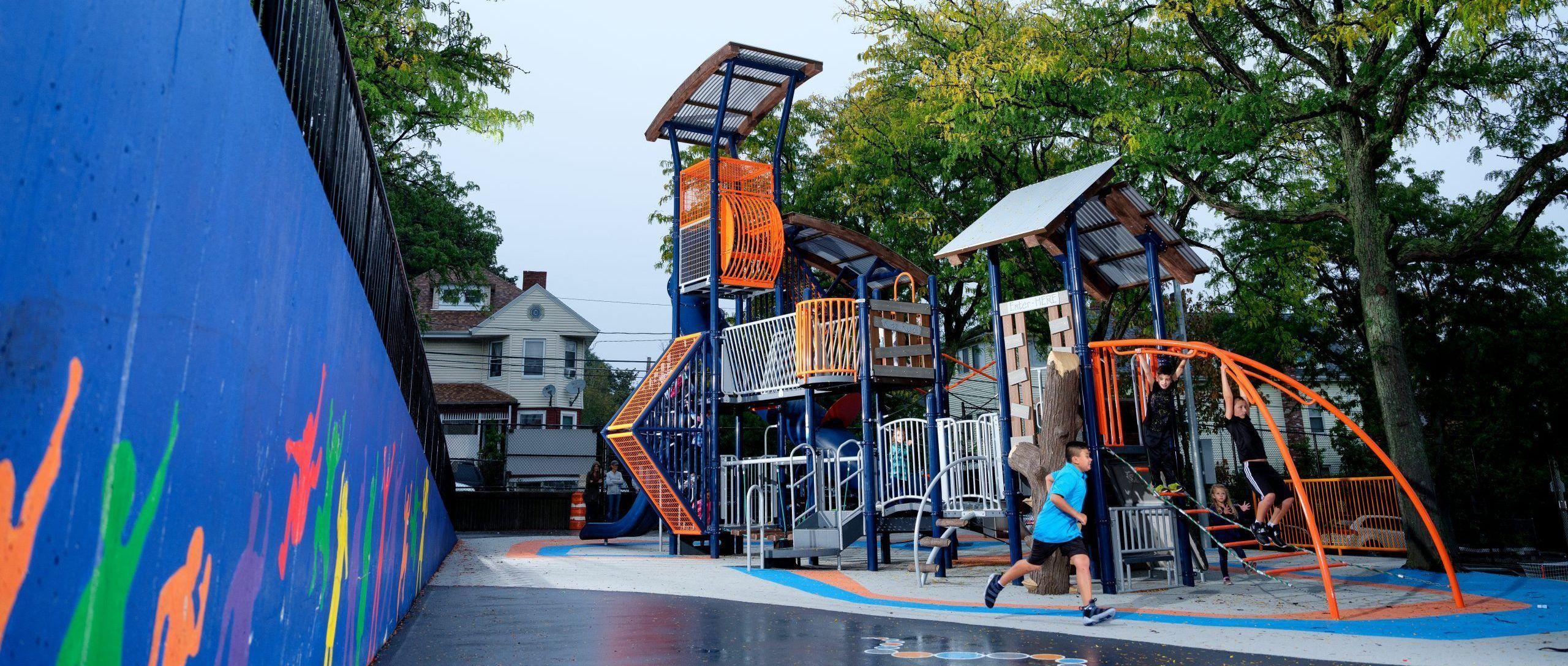 Nu-edge playground equipment