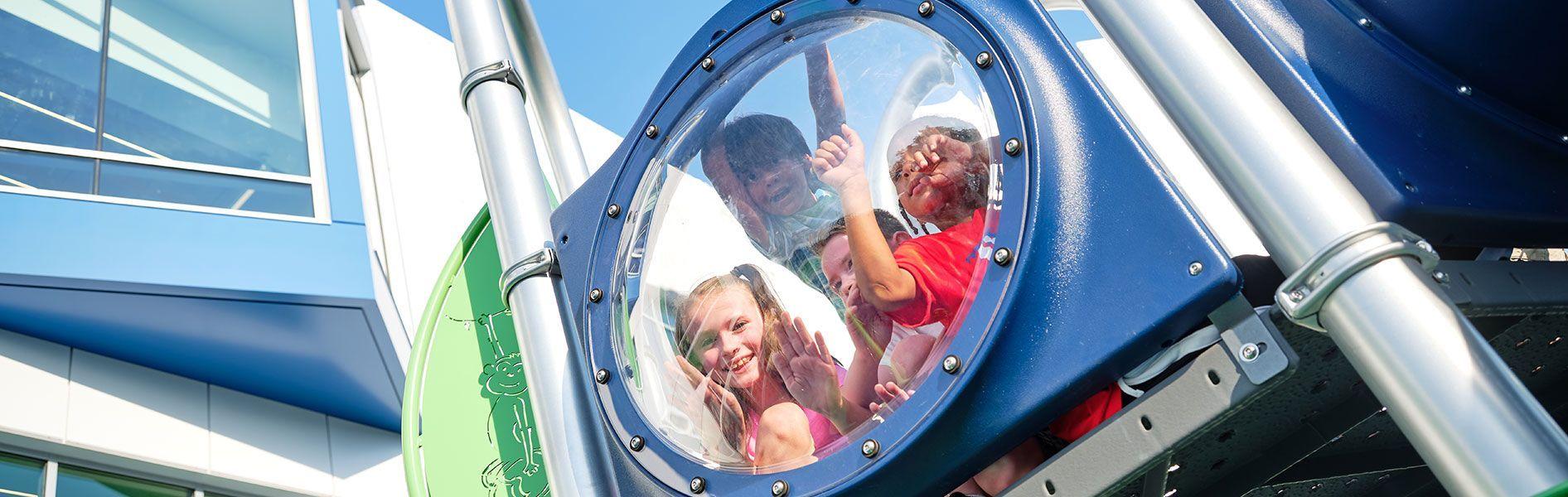 Playground bubble
