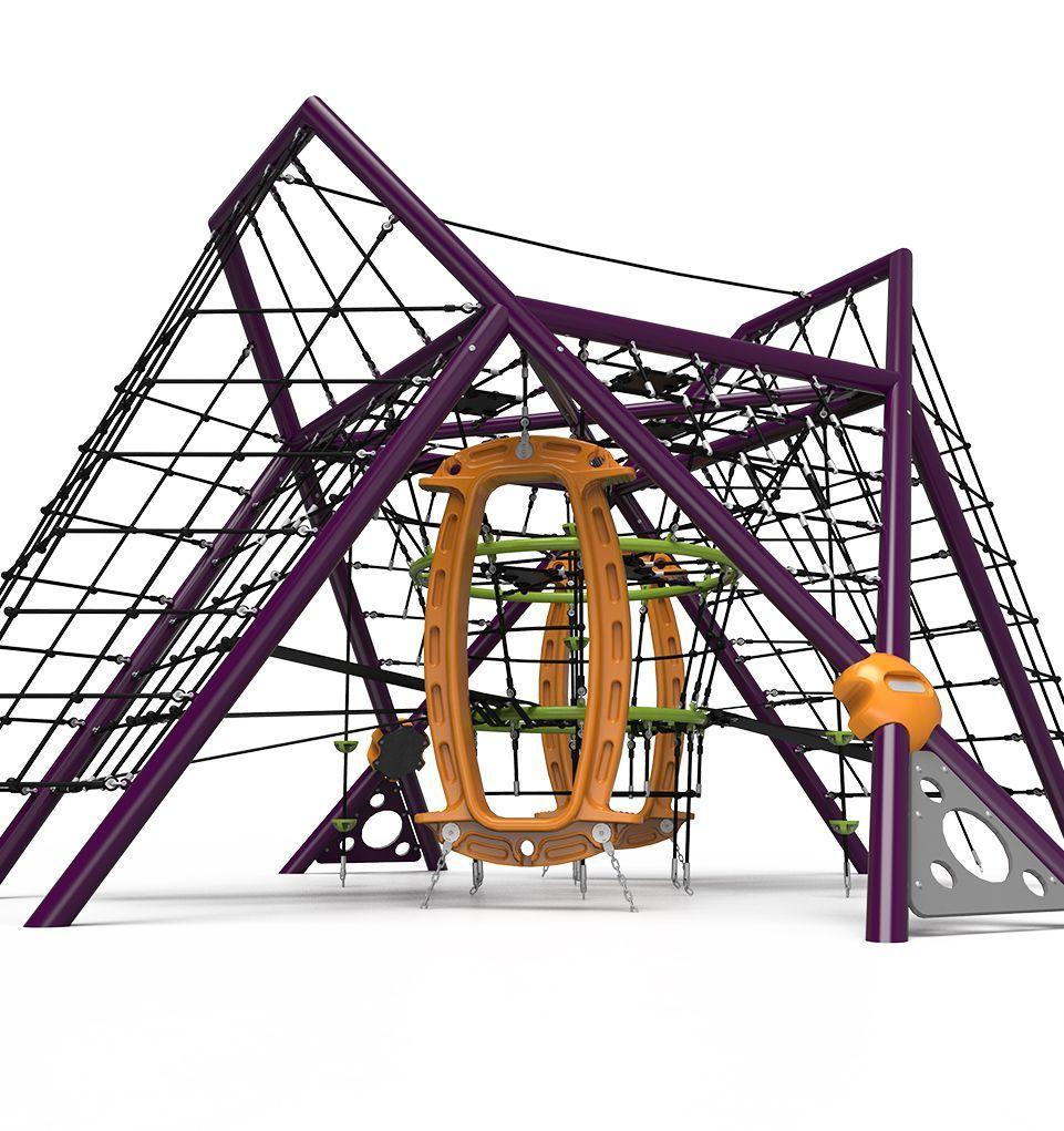 Grand Strand rope playground structure